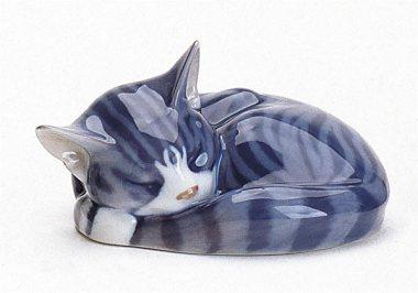 gatto di ceramica