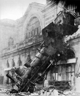 Treno a Montparnasse