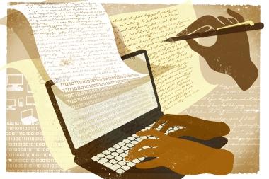 scrivere in internet