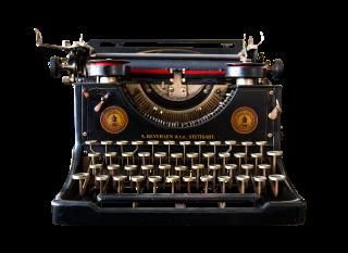 Macchina da scrivere d'altri tempi